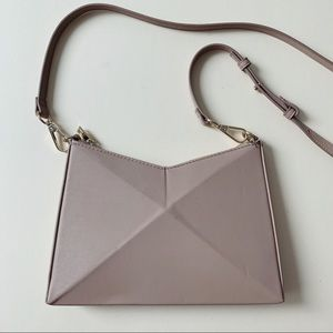 Zara Mini Geometric Crossbody Bag